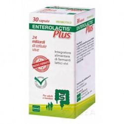 Enterolactis plus  30 cps