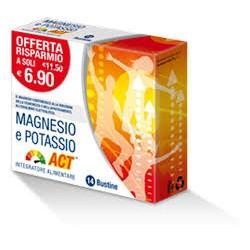 Magnesio e potassio act 14bst