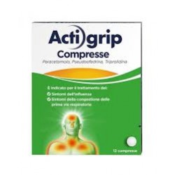 Actigrip 12compresse