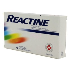 Reactine 5mg+120mg 6 cpr rp