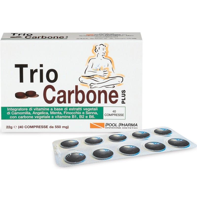 Triocarbone Plus 40 cpr