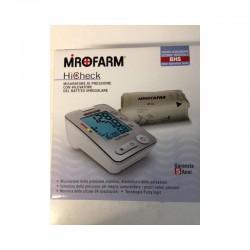 Sfigmomanometro Mirofarm Hicheck